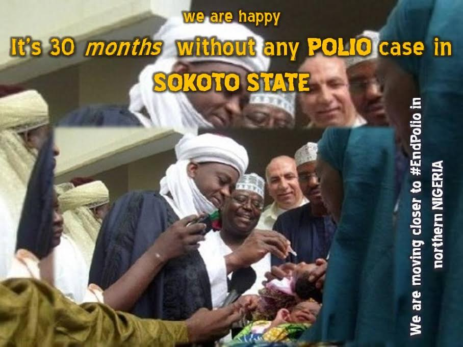 Sokoto State records Zero Polio Case for over 28 Months