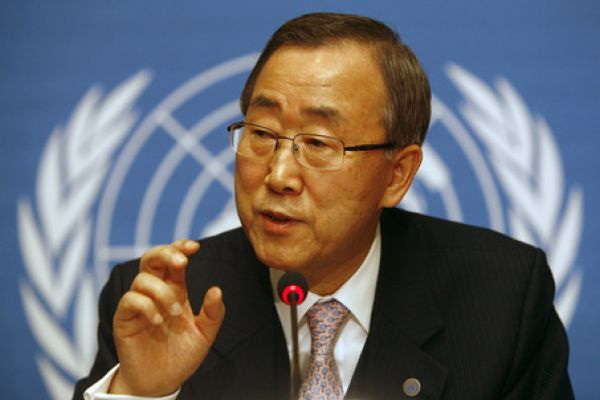 Ban Ki-Moon calls for healthier environment