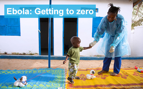 1 out of 5 Ebola infections hits a child
