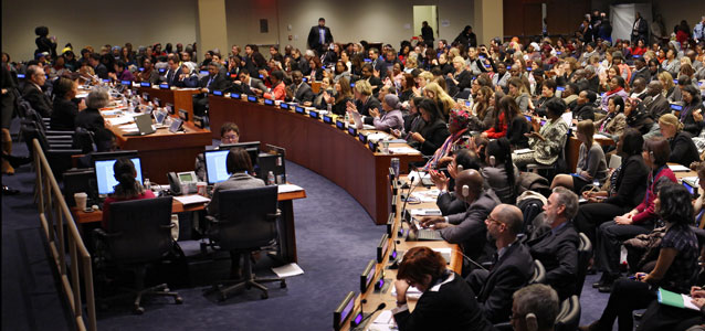 Governments Endorse New Roles for Women's Commission