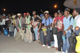 Breaking; Gallant 250 Nigeria Ebola Volunteers return alive, hale and Hearty