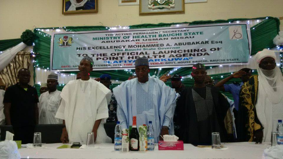 Bauchi State launches its 5 Point Health Agenda tagged Lafiya Garkuwa & declares free drugs to Children