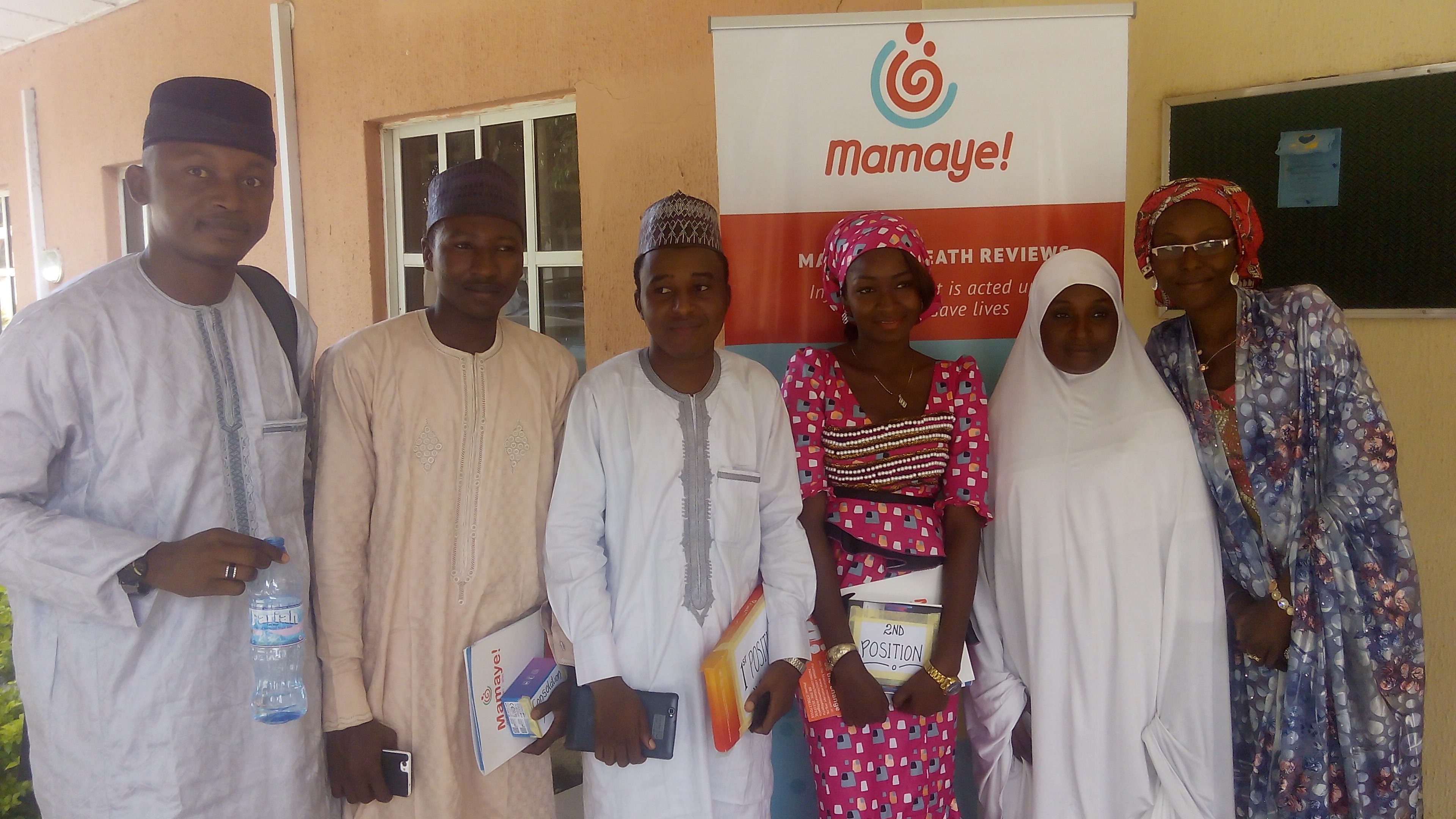 5 Students emerge winners of MamaYe Competition in Bauchi State