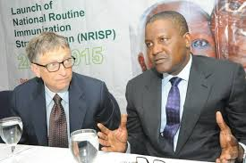 Bill Gates, Dangote and Immunization in Nigeria