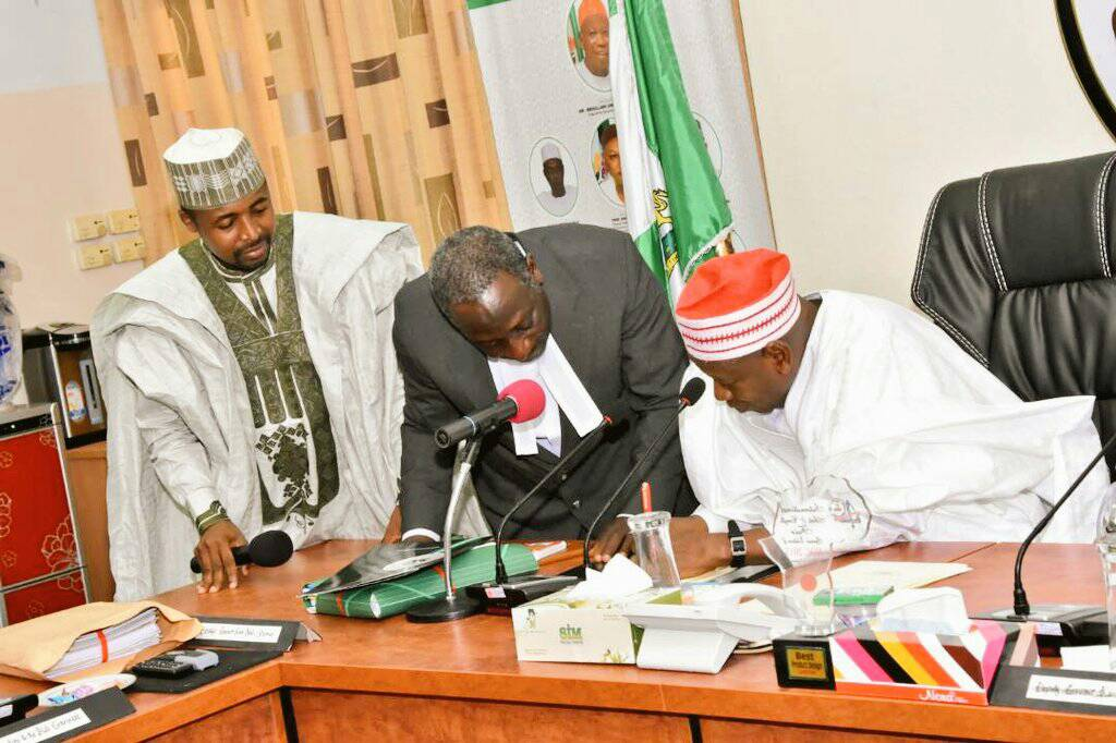 Breaking News; Governor Ganduje of Kano State has assented the Kano State Health Trust Fund Law (KHETFUND)